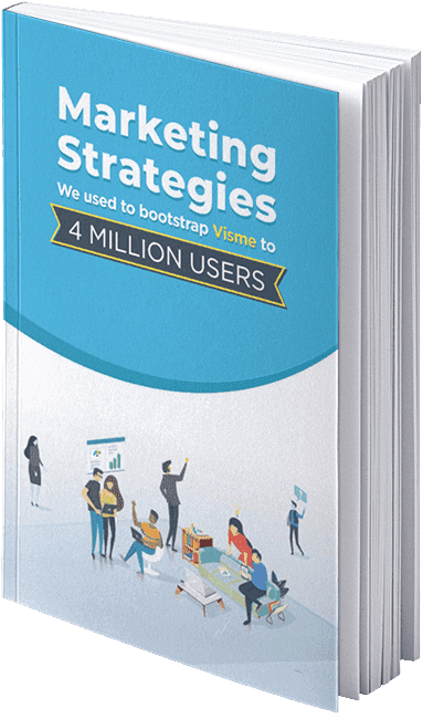 Visme SaaS marketing strategies ebook