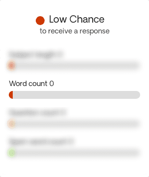 Chance of Getting a Response