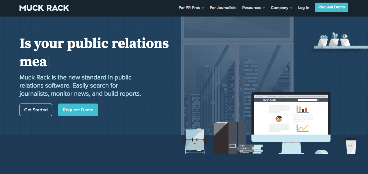 MuckRack Home Page