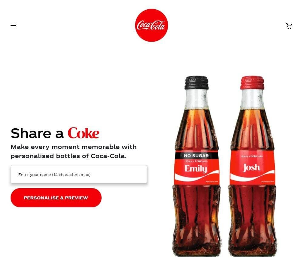 Share A Coke Personalized Bottles 1