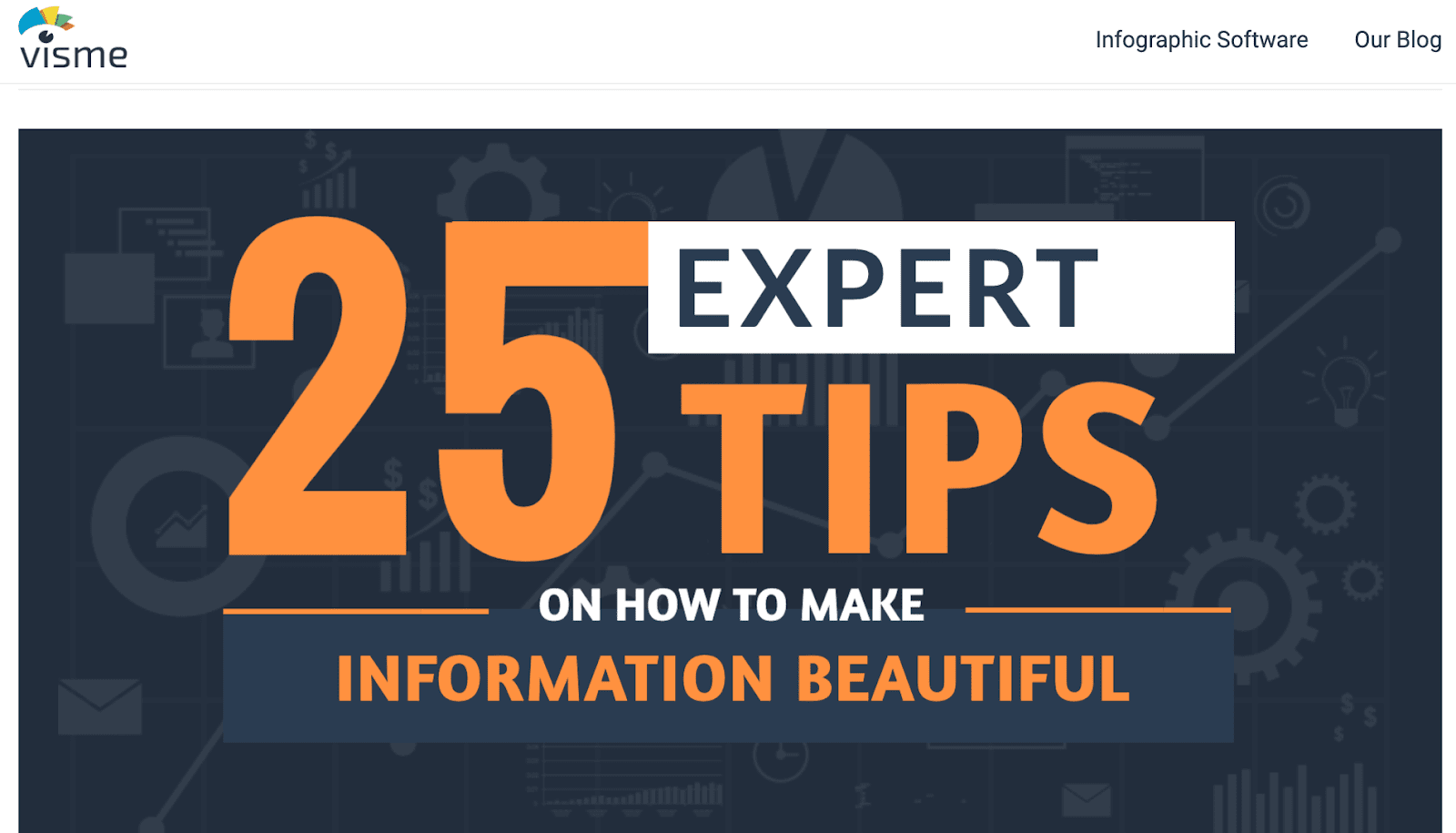 Visme 25 Expert Tips on How to Make Information Beautiful